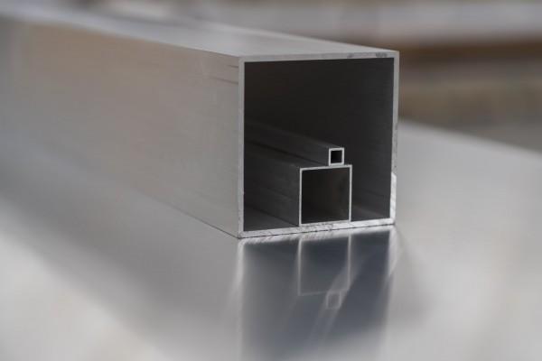 Alu Tubi quadrati EN AW 6060 T66